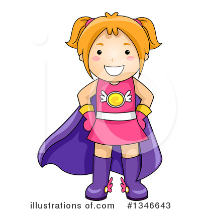 Royalty-Free (RF) Girl Clipart Illustration by BNP Design Studio - Stock Sample #1346643