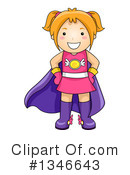 Royalty-Free (RF) Girl Clipart Illustration #1346643