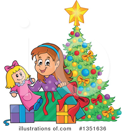 Christmas Gift Clipart #1351636 by visekart
