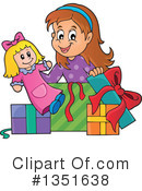 Royalty-Free (RF) Girl Clipart Illustration #1351638