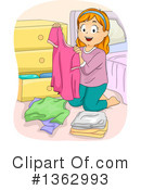 Royalty-Free (RF) Girl Clipart Illustration #1362993