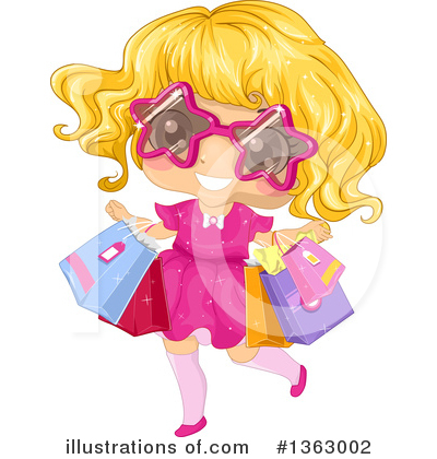Shopping Clipart #1363002 by BNP Design Studio