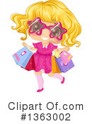 Royalty-Free (RF) Girl Clipart Illustration #1363002