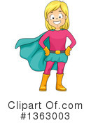 Royalty-Free (RF) Girl Clipart Illustration #1363003
