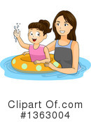 Royalty-Free (RF) Girl Clipart Illustration #1363004