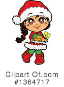 Royalty-Free (RF) Girl Clipart Illustration #1364717