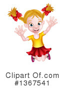 Royalty-Free (RF) Girl Clipart Illustration #1367541