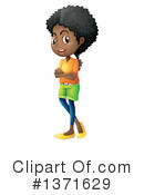 Girl Clipart #1371629 by Graphics RF
