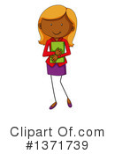 Royalty-Free (RF) Girl Clipart Illustration #1371739