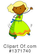 Girl Clipart #1371740 by Graphics RF