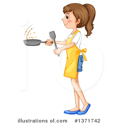 Cooking Clipart #1371742 by Graphics RF