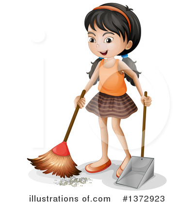 Chores Clipart #1372923 by Graphics RF