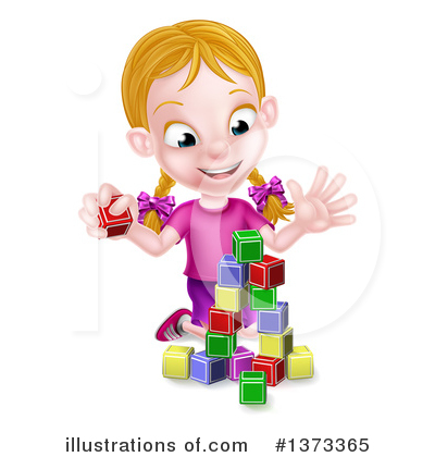 Children Clipart #1373365 by AtStockIllustration