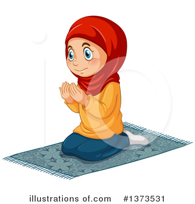 Muslim Clipart #1373531 by Graphics RF