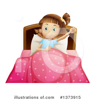 Bed Clipart #1373915 by Graphics RF