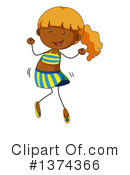 Girl Clipart #1374366 by Graphics RF