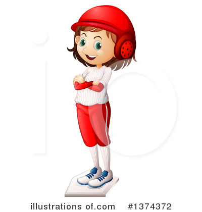 Royalty-Free (RF) Girl Clipart Illustration by Graphics RF - Stock Sample #1374372