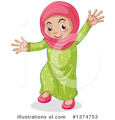 Muslim Clipart #1374753 by Graphics RF