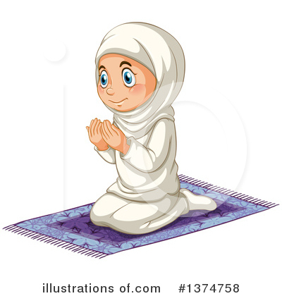Muslim Clipart #1374758 by Graphics RF