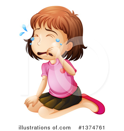 Crying Clipart #1374761 by Graphics RF