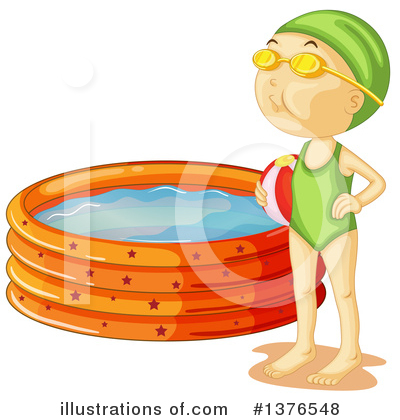 Swimming Clipart #1376548 by Graphics RF