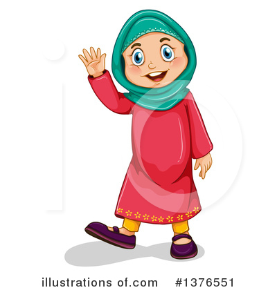 Muslim Clipart #1376551 by Graphics RF