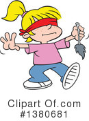 Girl Clipart #1380681 by Johnny Sajem