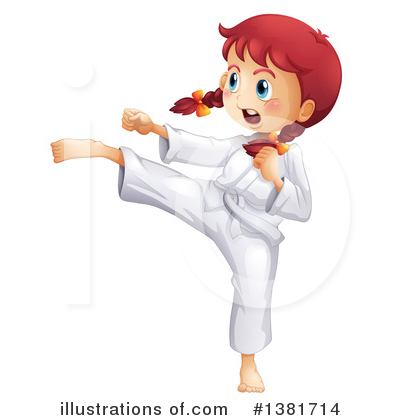Karate Clipart #1381714 by Graphics RF