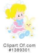 Girl Clipart #1389301 by Alex Bannykh