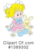 Girl Clipart #1389302 by Alex Bannykh