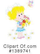 Girl Clipart #1389741 by Alex Bannykh