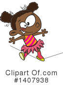 Girl Clipart #1407938 by toonaday