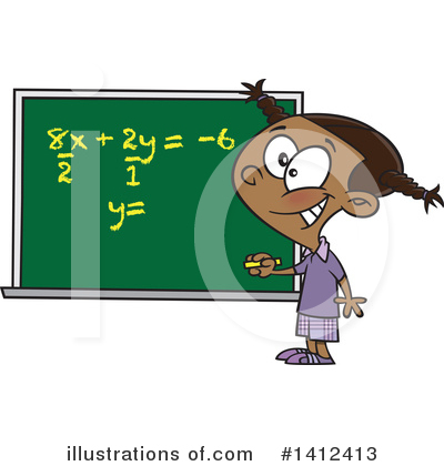 Math Clipart #1412413 by toonaday