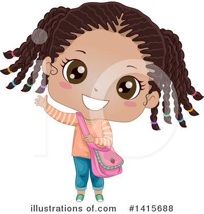Hairstyle Clipart #1415688 by BNP Design Studio