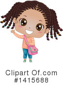 Girl Clipart #1415688 by BNP Design Studio