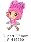 Girl Clipart #1415690 by BNP Design Studio