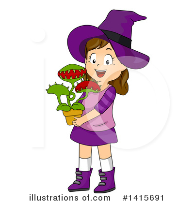 Witch Clipart #1415691 by BNP Design Studio