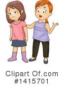 Girl Clipart #1415701 by BNP Design Studio
