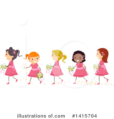 Wedding Party Clipart #1415704 by BNP Design Studio
