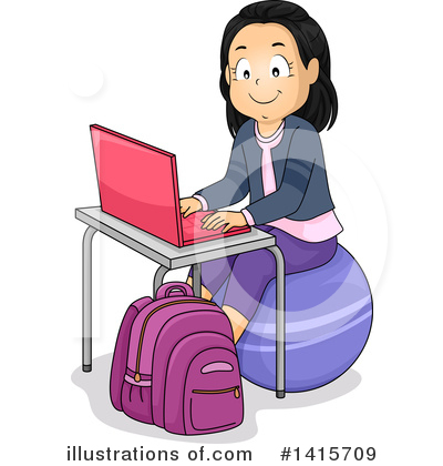 Homework Clipart #1415709 by BNP Design Studio