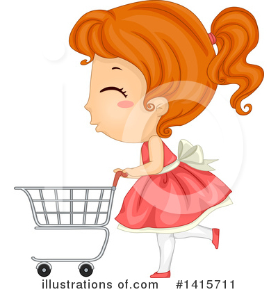 Shopping Cart Clipart #1415711 by BNP Design Studio
