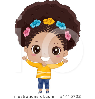 Hairstyle Clipart #1415722 by BNP Design Studio