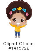 Royalty-Free (RF) Girl Clipart Illustration #1415722