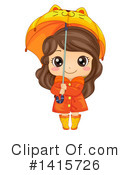 Girl Clipart #1415726 by BNP Design Studio