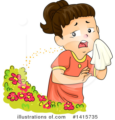 Allergy Clipart #1415735 by BNP Design Studio