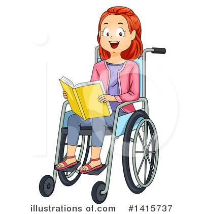 Wheelchair Clipart #1415737 by BNP Design Studio