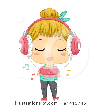Headphones Clipart #1415745 by BNP Design Studio