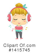 Girl Clipart #1415745 by BNP Design Studio