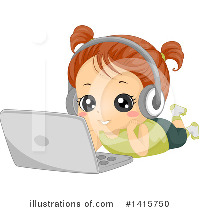 Laptop Clipart #1415750 by BNP Design Studio