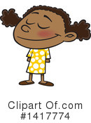 Girl Clipart #1417774 by toonaday